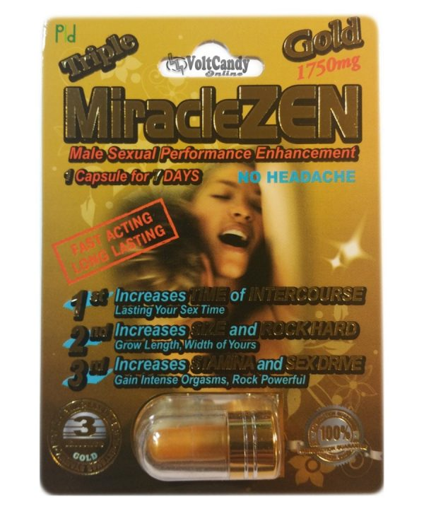 Triple MiracleZEN Gold 1750mg  (6 PACK)