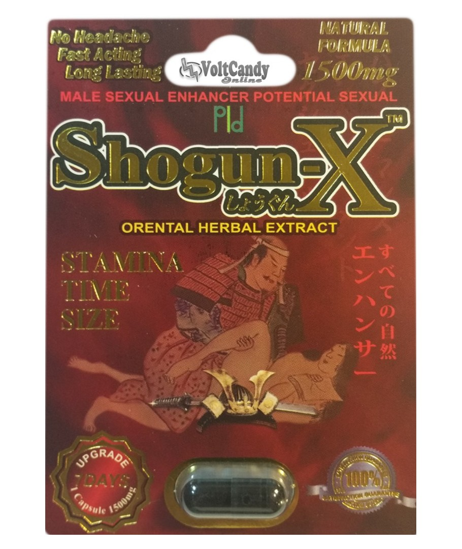 SHOGUN-X 1500mg BOX (24 PACK)