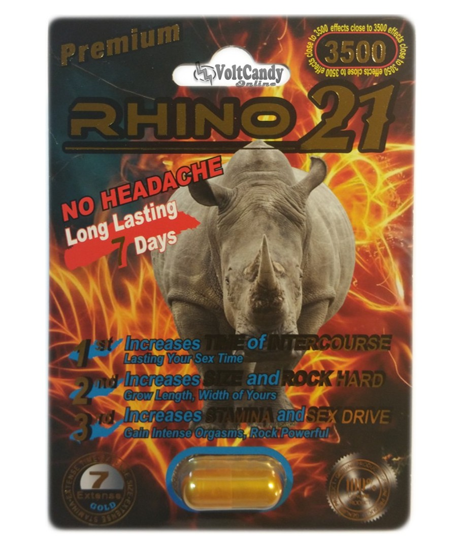 RHINO 21 Premium 3500 BOX (24 PACK)