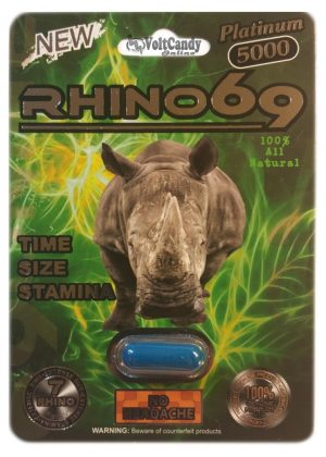 RHINO 69 Platinum 5000 BOX (24 PACK)