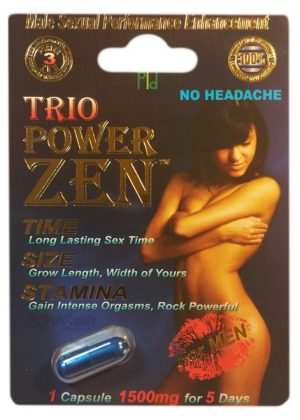 TRIO PowerZEN 1500mg BOX (24 PACK)