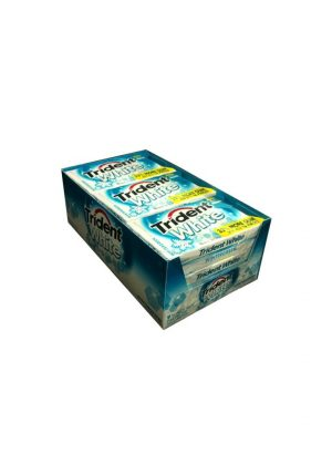 Trident White Gum, Wintergreen, Sugar Free - 9/16 piece Packs [144 pieces]
