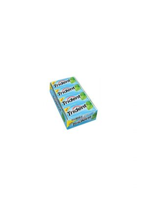 Trident MINT BLISS Sugar Free Gum, 12 boxes, 18 count each [216 Pieces]