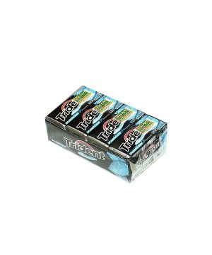 Trident SPLASHING MINT Sugar Free Gum, 12 boxes, 18 count each [216 Pieces]