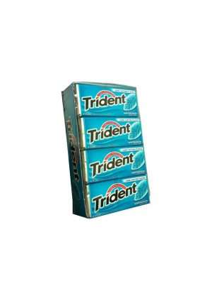 Trident Wintergreen Sugar Free Gum, 12 boxes, 18 count each [216 Pieces]