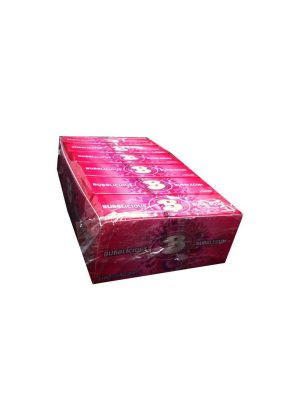 BUBBLICIOUS BUBBLE GUM 18 pack, 5 Pieces Each