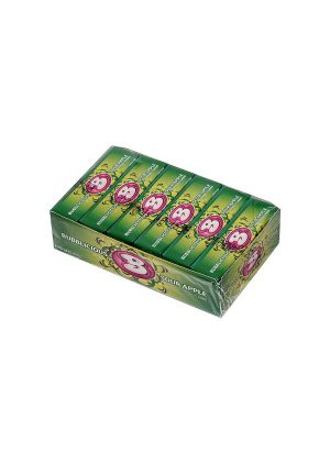 BUBBLICIOUS SOUR APPLE 18 pack, 5 Pieces Each