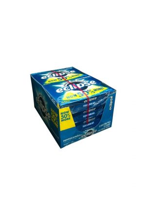 Eclipse Sugar Free Gum, PEPPERMINT - 8 pack, 18 pieces each