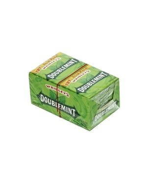 Wrigley's DOUBLEMINT Chewing Gum - 10 packs, 15 sticks each [150 Sticks]