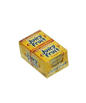Wrigley's JUICY FRUIT Chewing Gum - 10 packs, 15 sticks each [150 Sticks]