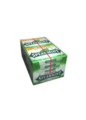 Wrigley's SPEARMINT Chewing Gum - 10 packs, 15 sticks each [150 Sticks]