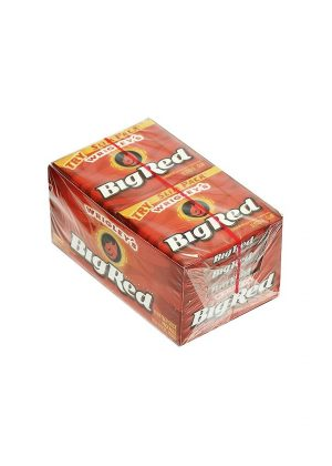 Wrigley's BIG RED Chewing Gum - 40 count box, 5 sticks each