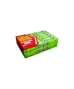 Wrigley's DOUBLEMINT Chewing Gum - 40 count box, 5 sticks each