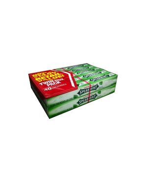 Wrigley's SPEARMINT Chewing Gum - 40 count box, 5 sticks each