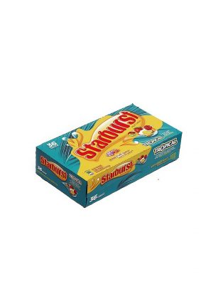 STARBURST TROPICAL Fruit Chews 36 CT. 2.07 oz ea