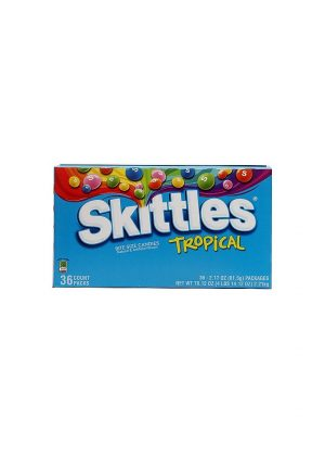 SKITTLES TROPICAL FLAVOR 36 CT.