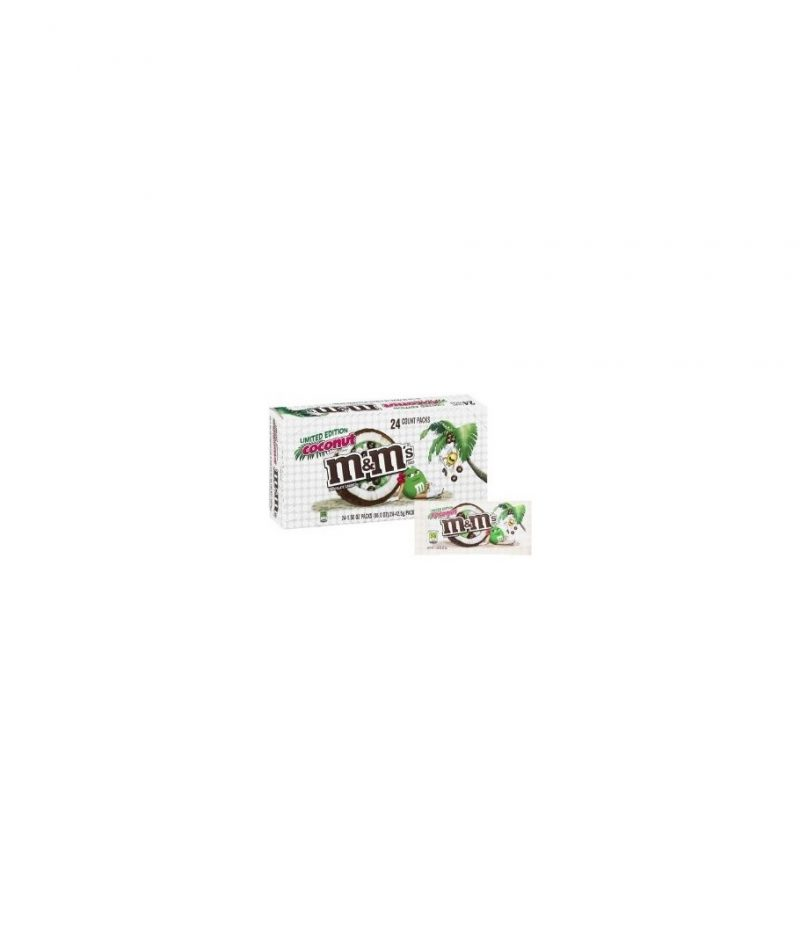 M&M COCONUT CHOCOLATE 24 CT.