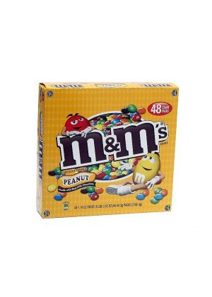 M&M's® Peanut - 1.74 oz. - 48 ct