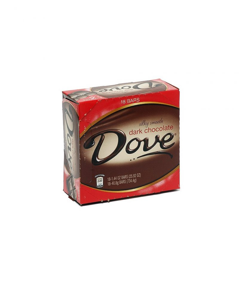 Dove Dark Chocolate – 18 pack, 1.44 oz bars