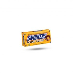 Snickers Squared Peanut Butter Candy Bars - 18 count, 1.87 oz bars