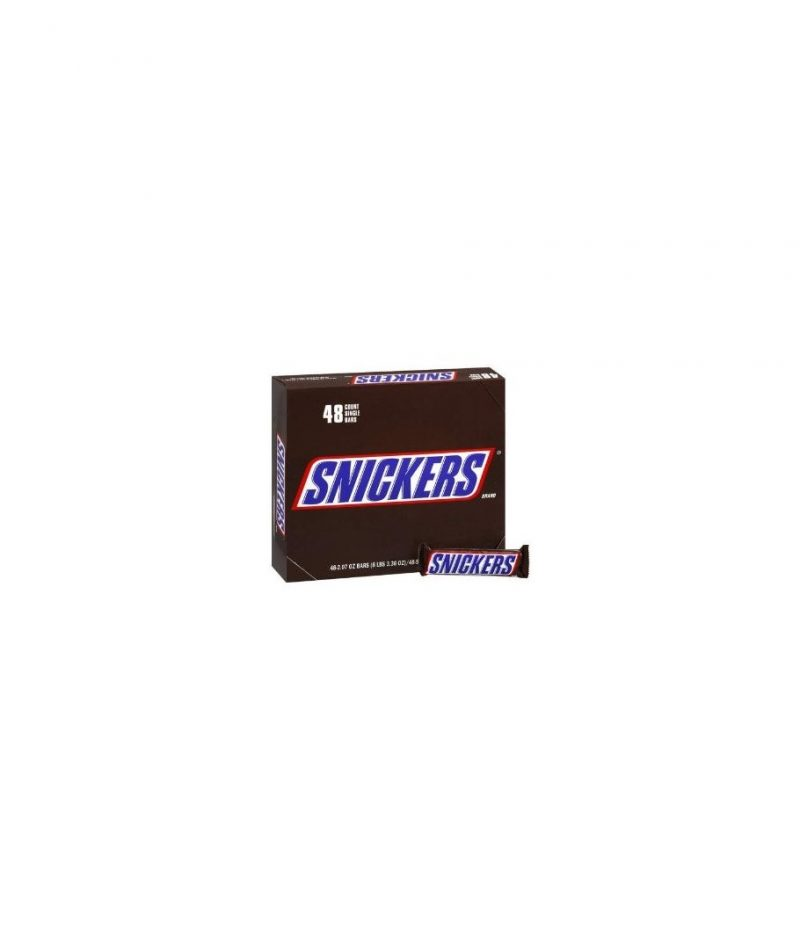Snickers Candy Bars – 48 pack, 2.07 oz bars