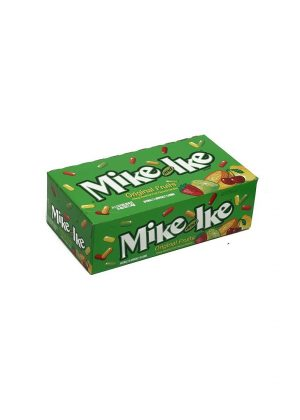 Mike & Ike Jelly Candy - ORIGINAL FRUITS 24 pack, 1.8 oz each