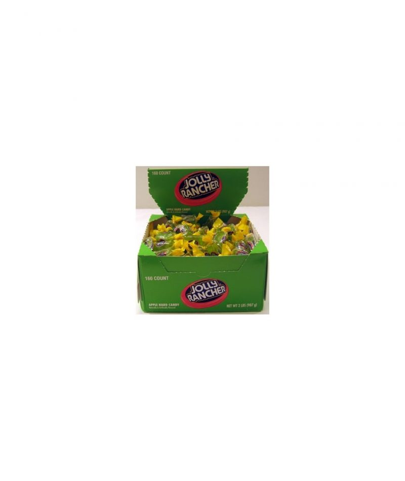 Jolly Rancher Hard Candy, Apple – 160 count, 2 lb