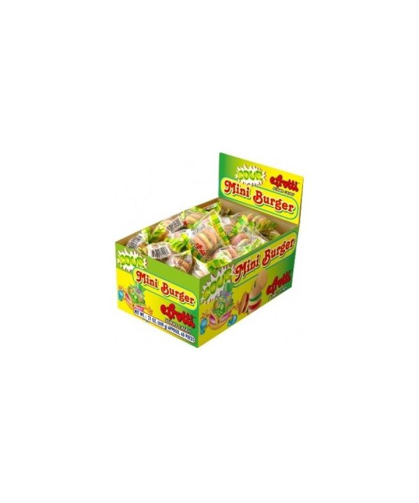 E.FRUTTI SOUR MINI BURGERS 60CT