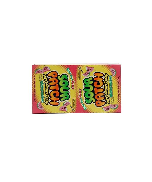 SOUR PATCH Soft Candy WATERMELON 24 pack, 2 oz bags