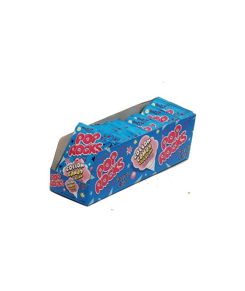 Pop Rocks Popping Candy, COTTON CANDY – 36 pack, 0.33 oz packages