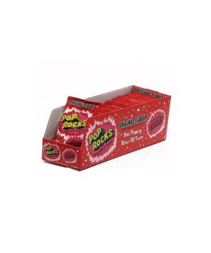 Pop Rocks Popping Candy, Original Cherry- 36 pack, 0.33 oz packages