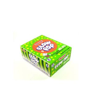 BLOW POP SOUR APPLE lollipops 48 CT