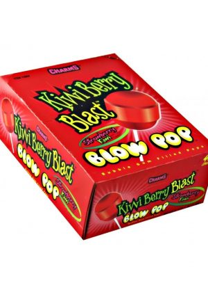 BLOW POP STRAWBERRY KIWI 48 CT