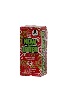 NOW & LATER 25C STRAWBERRY 24 CT