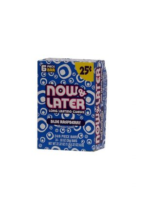NOW & LATER 25C BLUE RASP 24 CT
