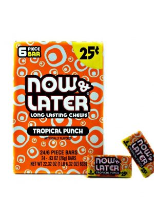 NOW & LATER 25C TROP PUNCH 24 CT
