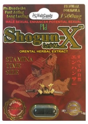 SHOGUN-X 1500mg (12 PACK)