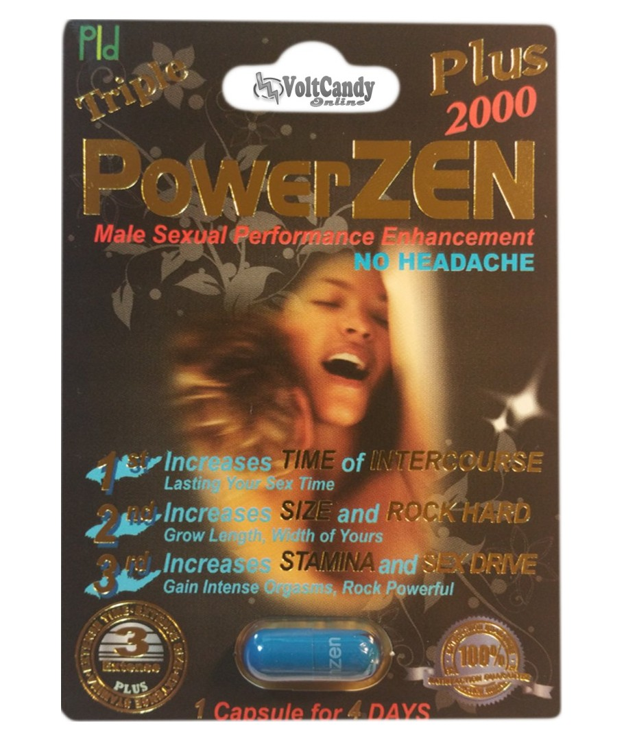 Triple PowerZEN Plus 2000 (12 PACK)