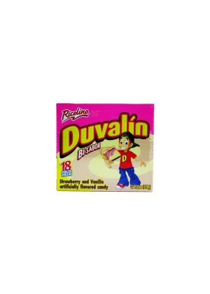 DUVALIN STRAWBERRY/VANILLA 18CT