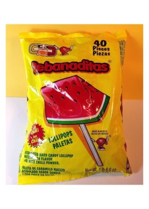 REBANADITAS SANDIA CON CHILE 40/CT
