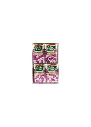 Tic Tac Mints STRAWBERRY - 12 pack, 1 oz packs