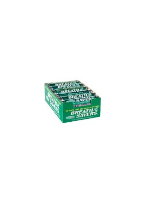 Breath Savers Mints SPEARMINT - 12 Piece Pks. - 24 Ct.