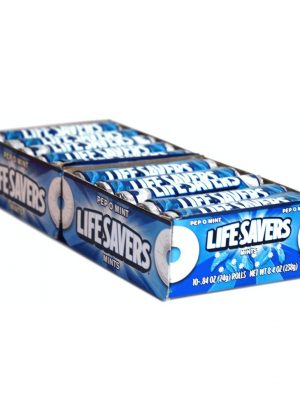 LIFESAVERS MINT PEPPOMINT - 20 rolls, 14 pieces each