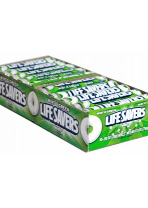LIFESAVERS MINT WINTERGREEN - 20 rolls, 14 pieces each