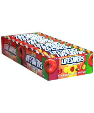 LIFESAVERS MINT 5 FLAVORS - 20 rolls, 14 pieces each
