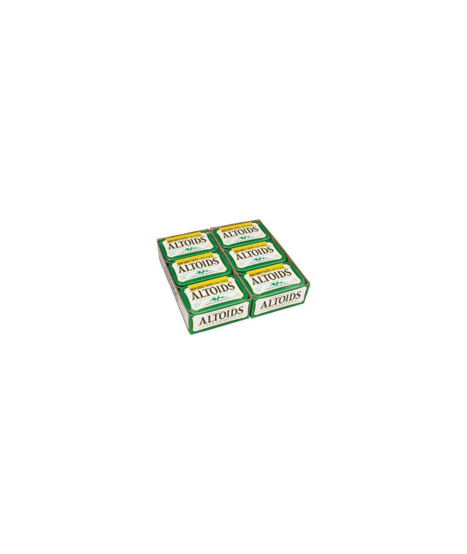ALTOIDS Mints Spearmint – 12 pack, 1.76 oz each