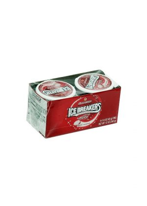 Ice Breakers Cinnamon Sugar Free Mints, 8 CT - 1.5 oz each