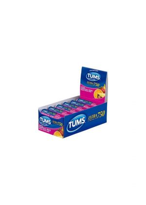 TUMS Extra TROPICAL 12 CT