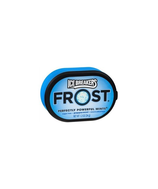 Ice Breakers Frost Mints, PEPPERMINT – 6 pack 1.2 oz each