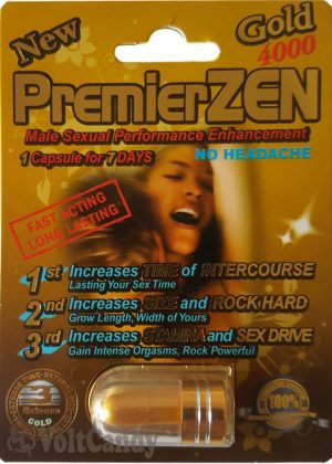 PremierZEN Gold 4000mg Male Sexual Performance Enhancement